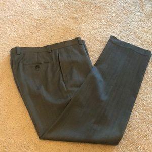 Men's gray dress pant